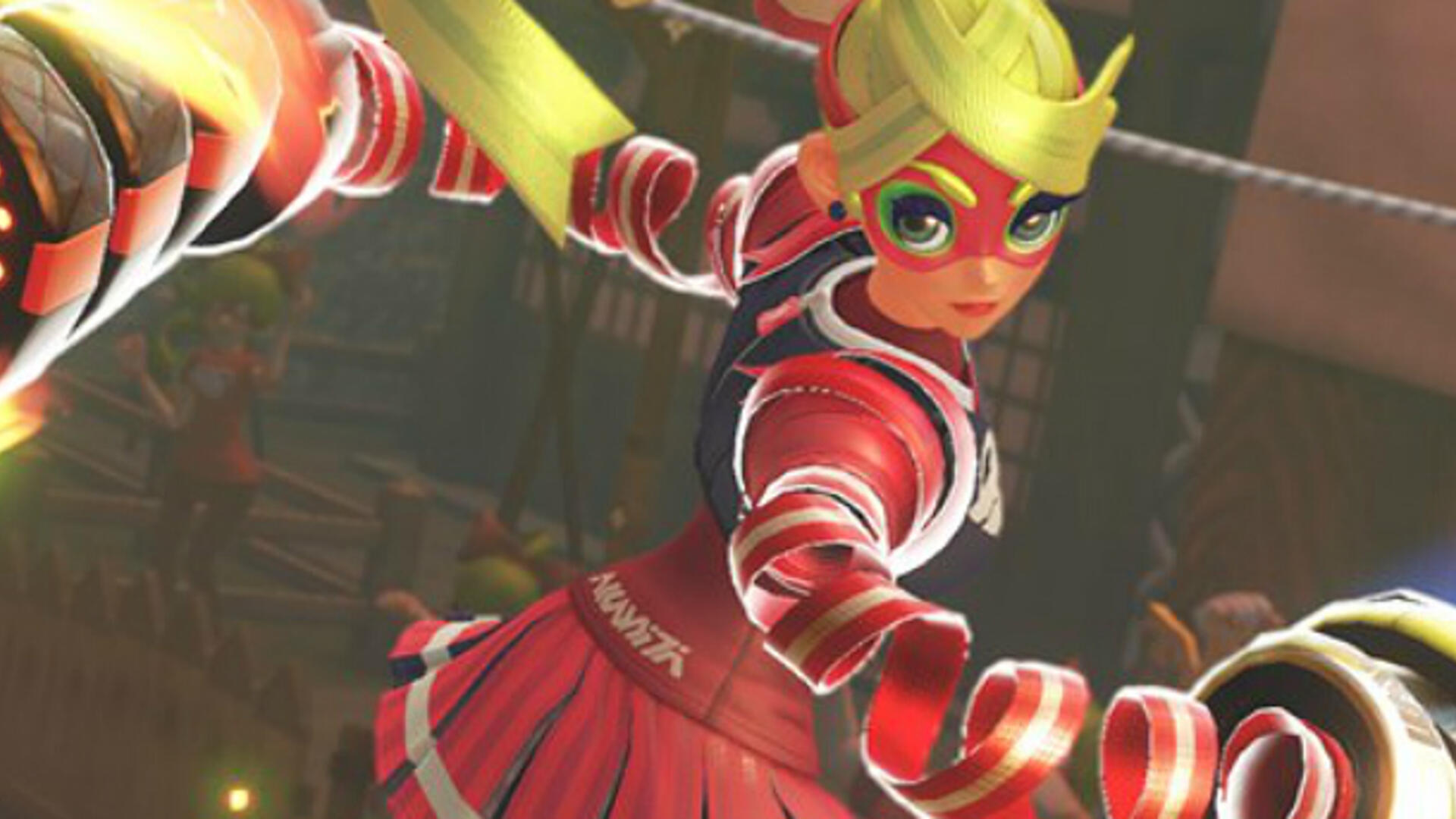 Arms Gets June Release Date and a Neon Yellow Joycon