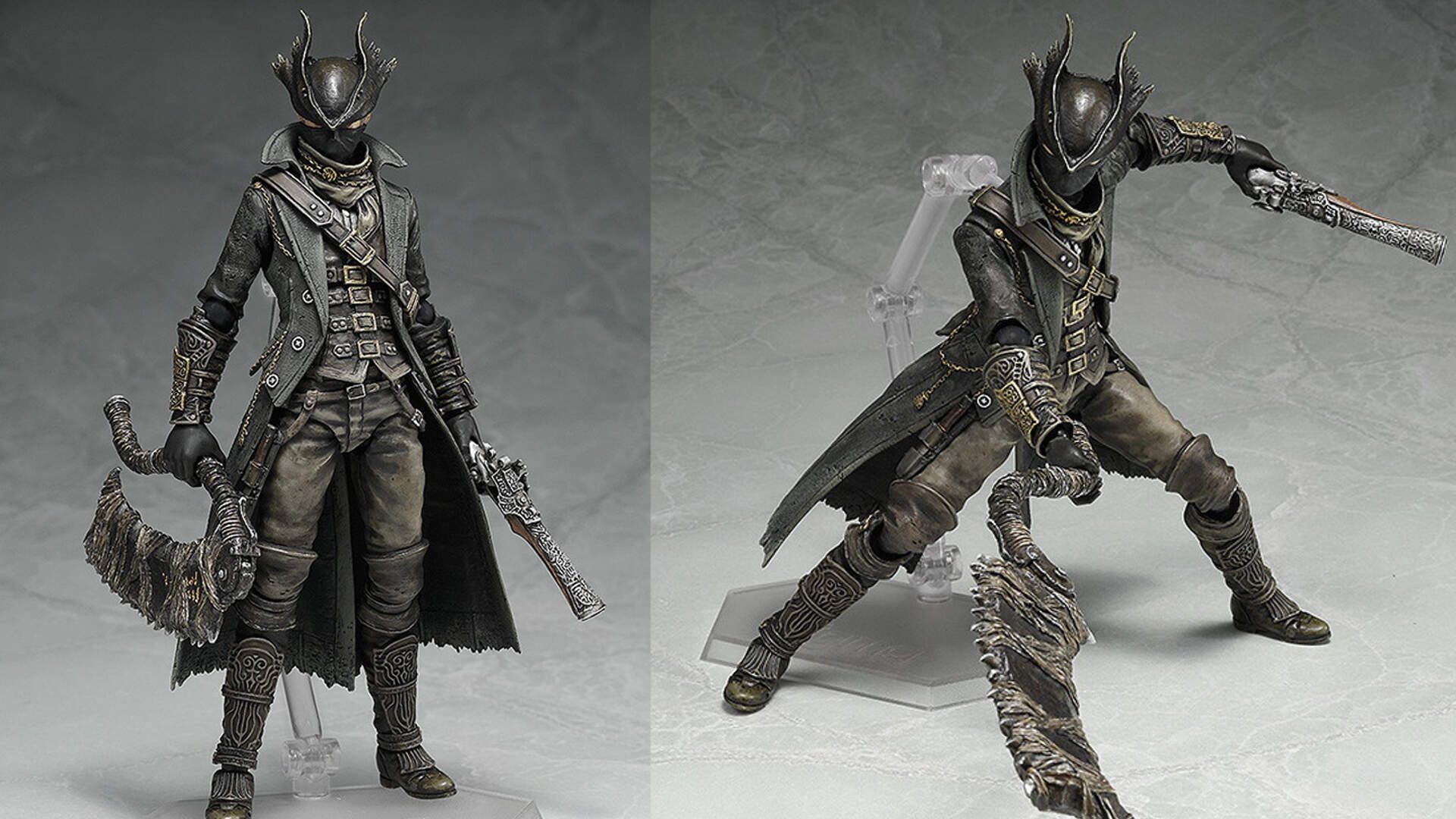 Limited Edition Hunter from Bloodborne Figma Figurine up for Pre-Order