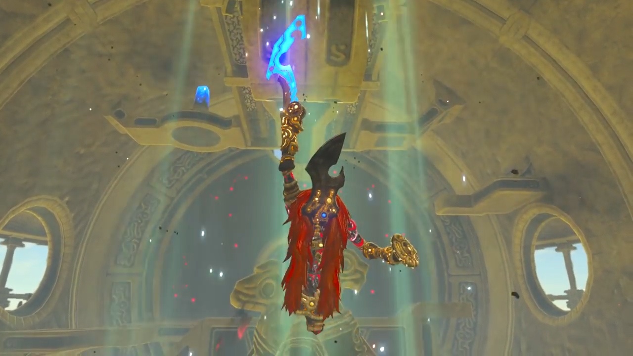 Zelda Breath Of The Wild Thunderblight Ganon Boss How To