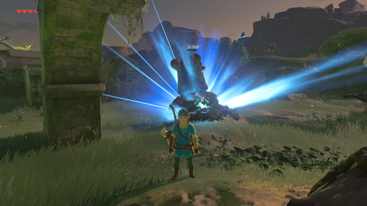 Zelda breath of the wild how to to kill guardians usgamer how to disable or temporarily stun guardians before killing them in breath of the wild gumiabroncs Images