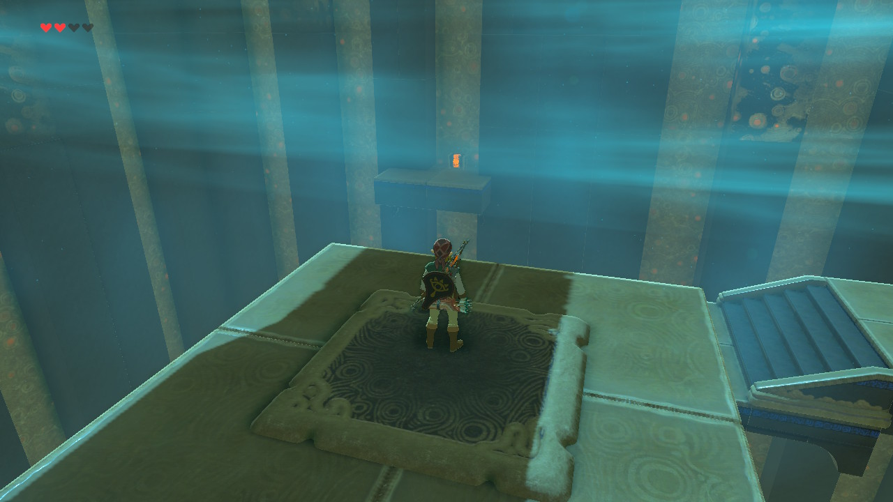 Zelda Breath of the Wild Bosh Kala Shrine - Find the Bosh
