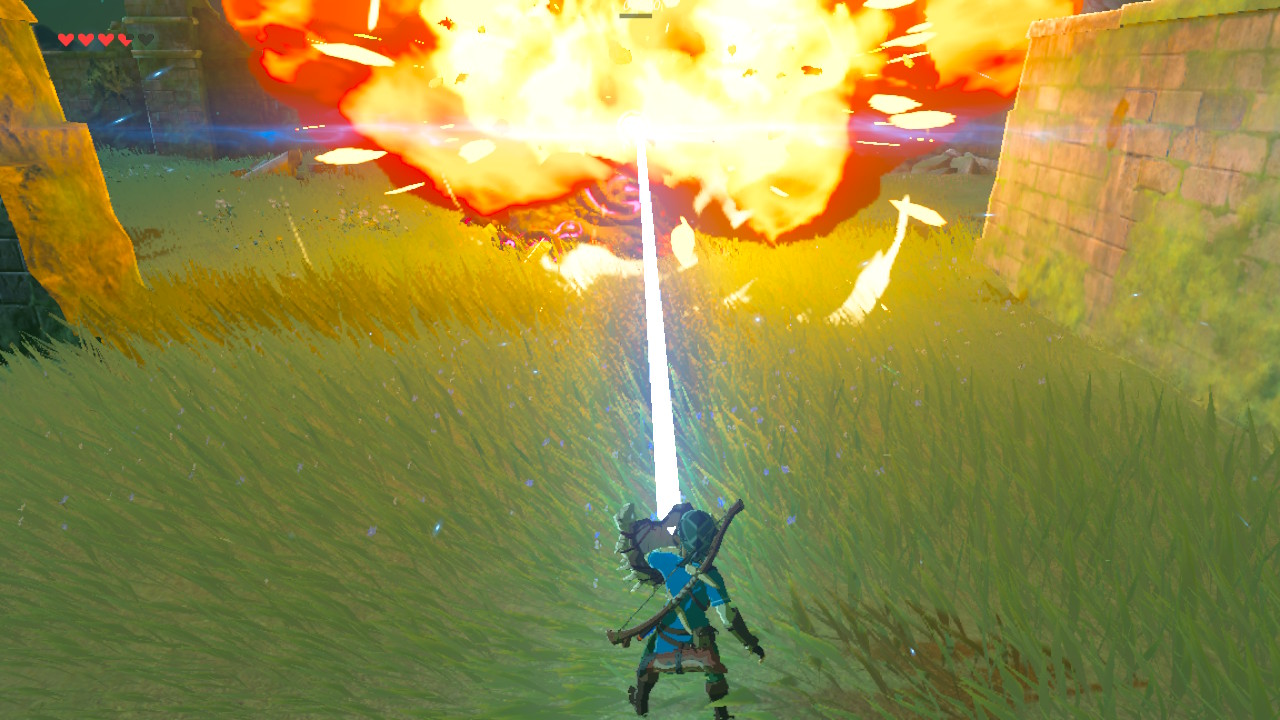 Zelda Breath of the Wild Guardians - How to to Kill