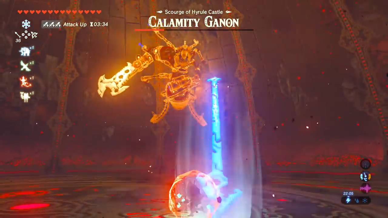 Zelda Breath Of The Wild Beat Calamity Ganon Dark Beast 4 Way Switch Dead End For All Moves He Takes From His Blight Incarnations Be Sure To Dodge And Block In You Tackled Those Bosses