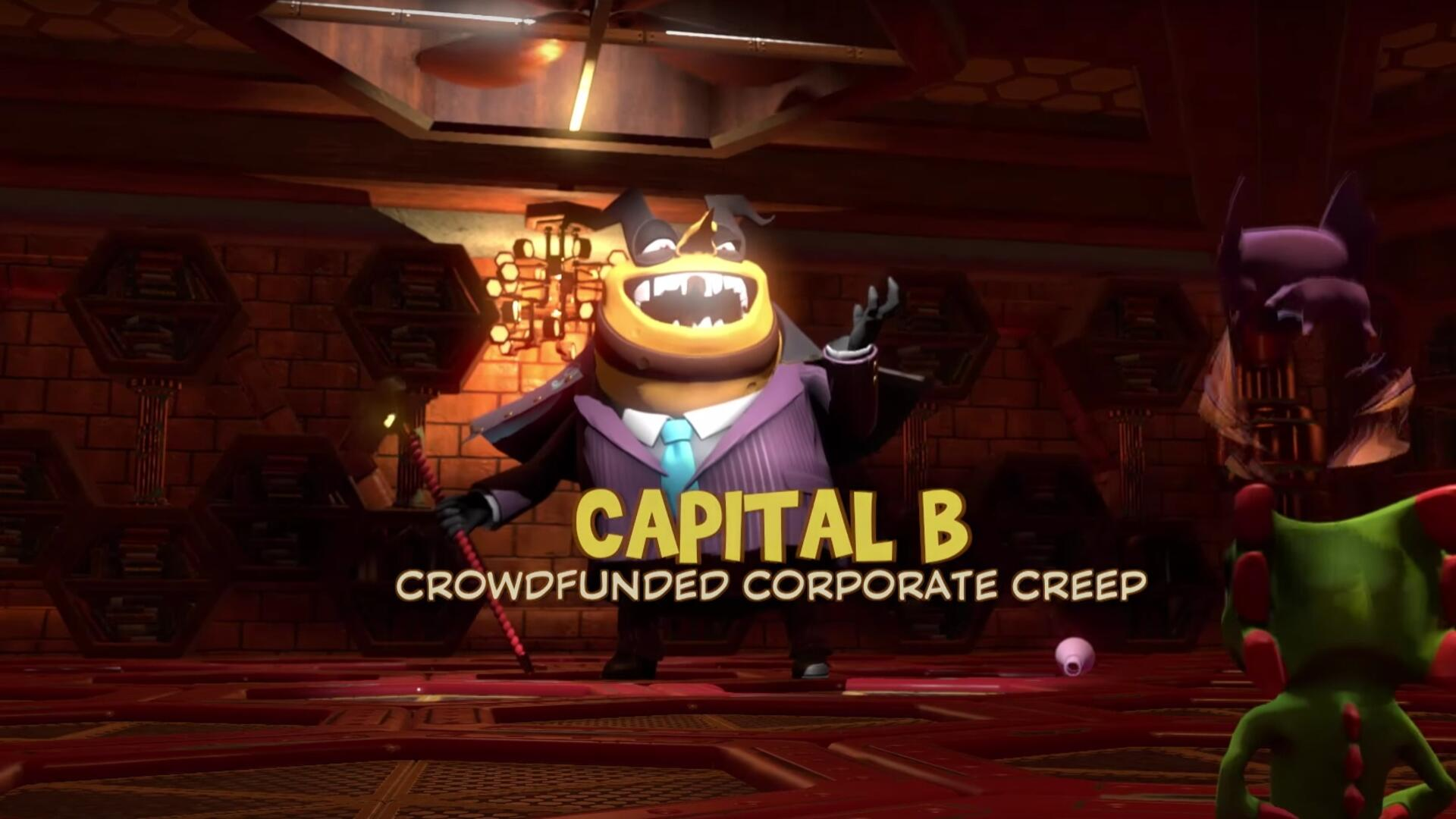 Yooka Laylee - How to Beat Capital B and Complete the Game, Final Boss Guide