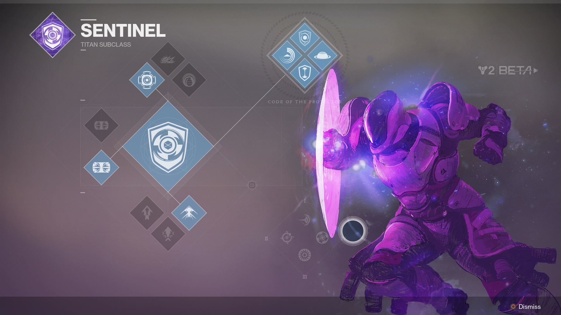 Featured In The Destiny 2 Beta We Now Know Numerous Details About Titan Sentinel Subclass Has A Shield Ability Not Unlike Captain America
