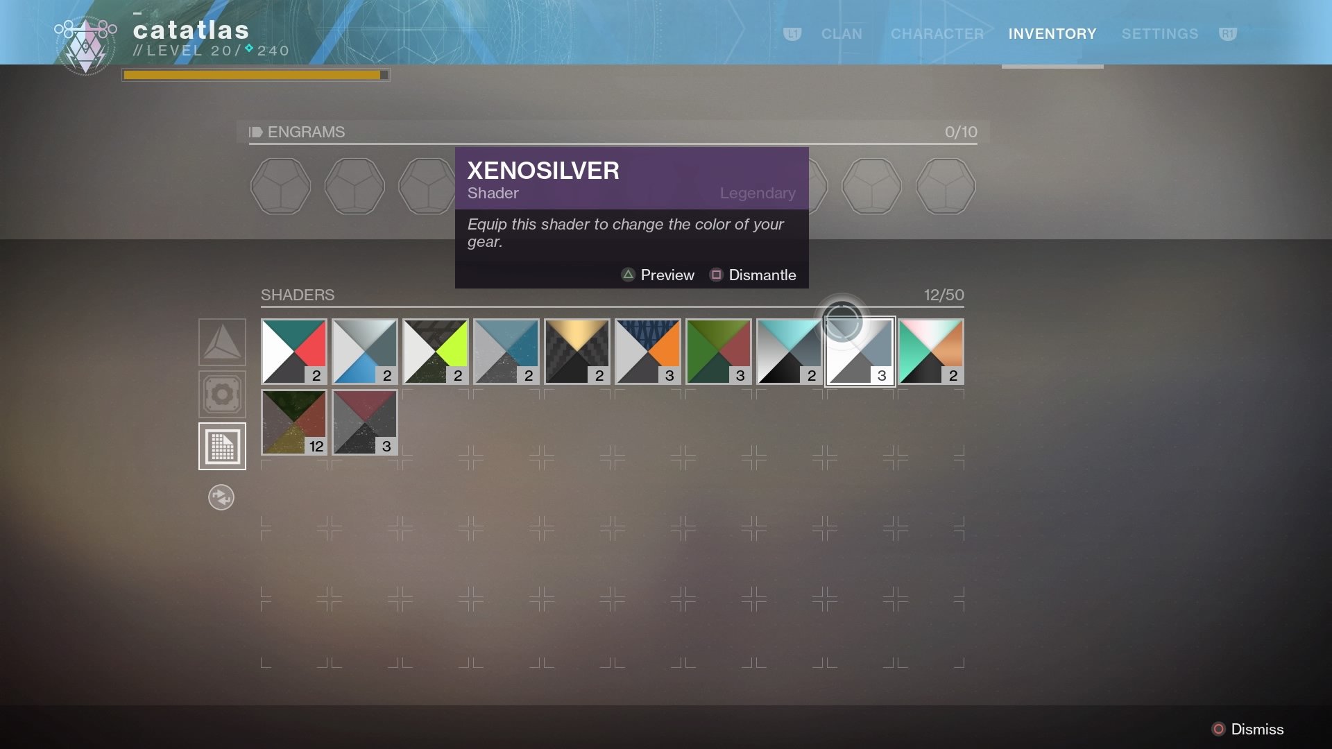 Destiny 2's New Shader System Has Me Suffering From Shader Hoarder