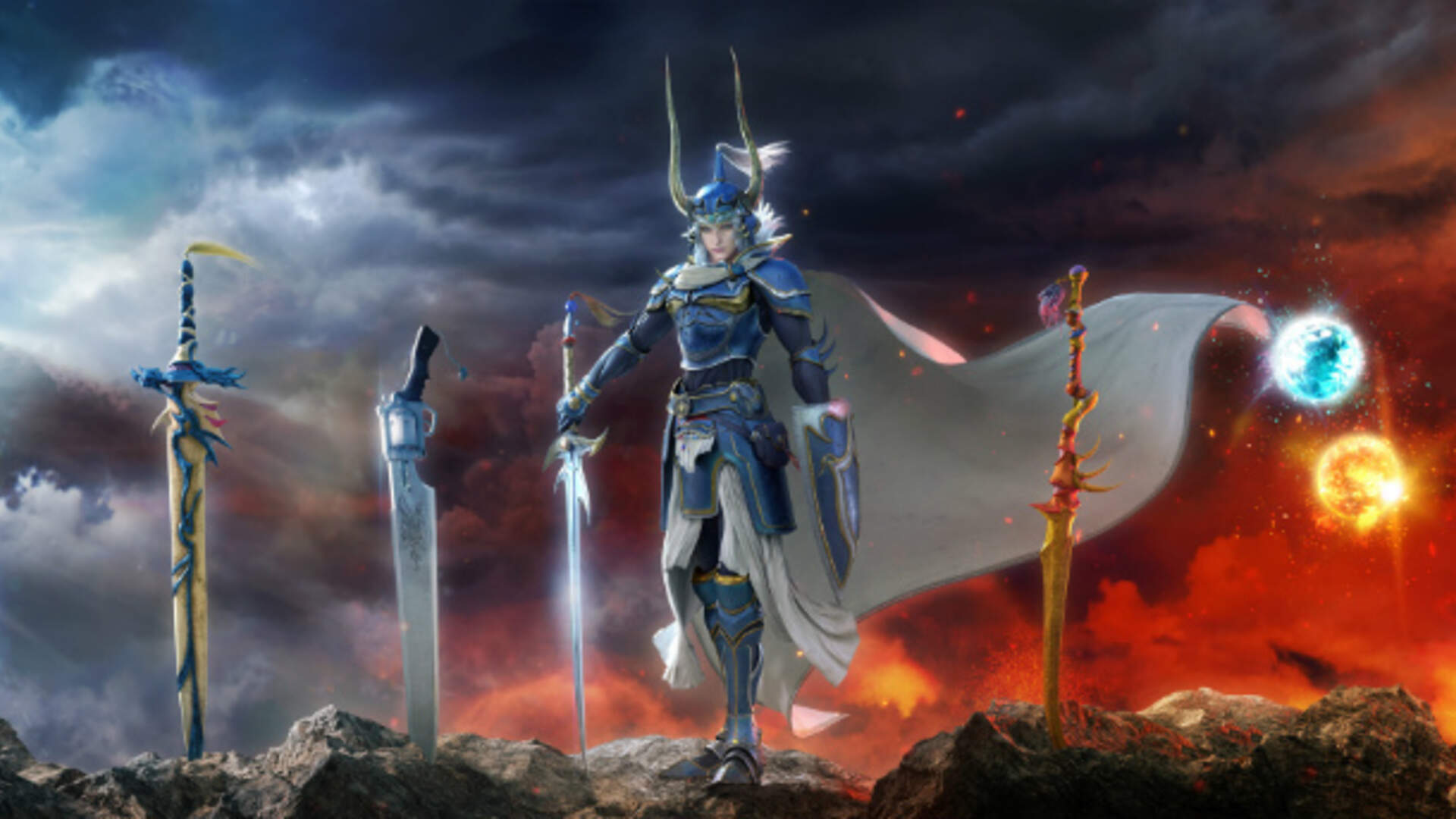 Dissidia Final Fantasy Arcade Revealed For 2018 PS4 Release
