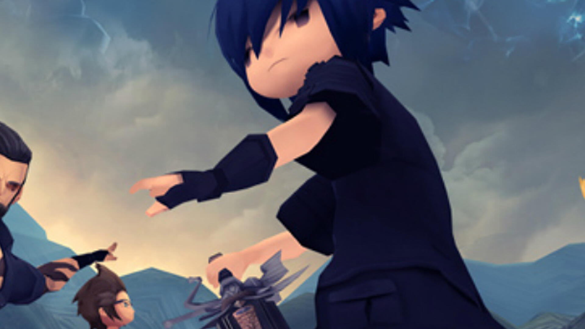 Final Fantasy XV Gets Chibi With A Mobile Pocket Edition