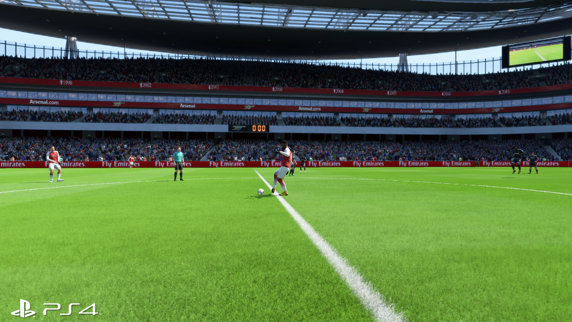 Fifa 18 On Switch Offers Healthy Boost In Tech Over Xbox 360 And Ps4 Undocked Docked Playstation 4