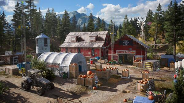 Far Cry 5 Capturing The Look And Feel Of Montana Usgamer