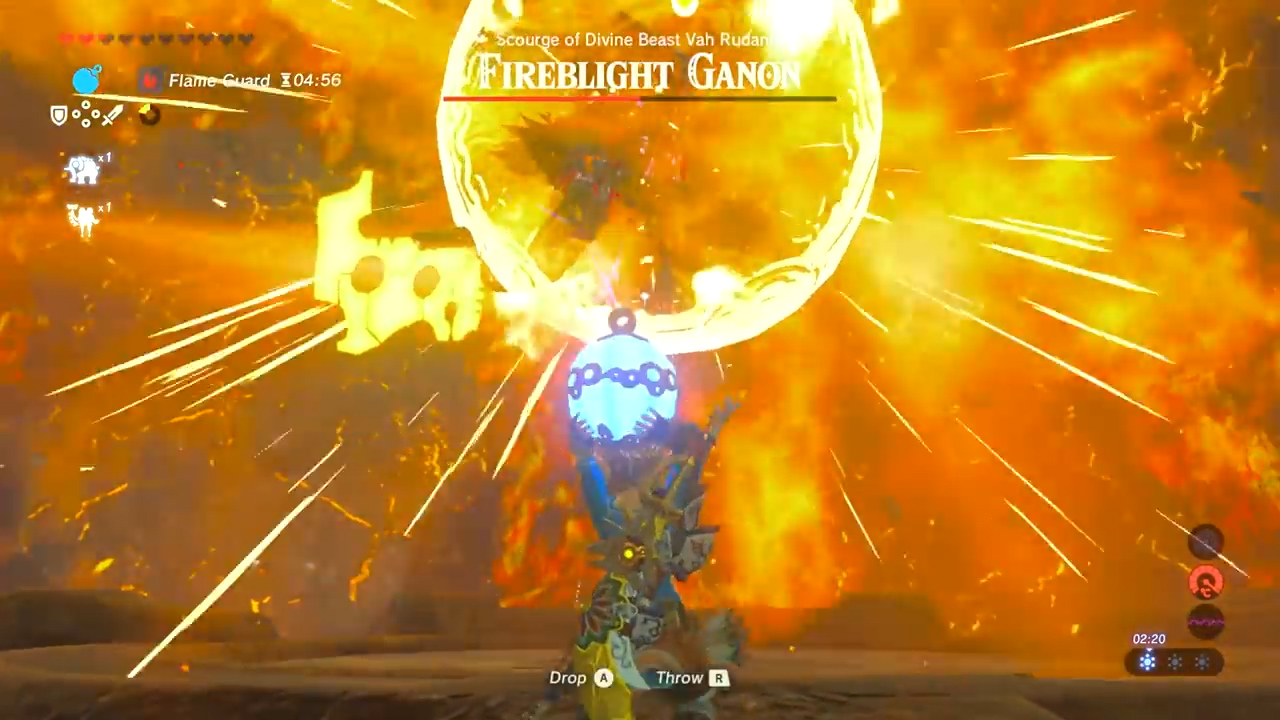 Zelda Breath Of The Wild Fireblight Ganon Boss How To Beat