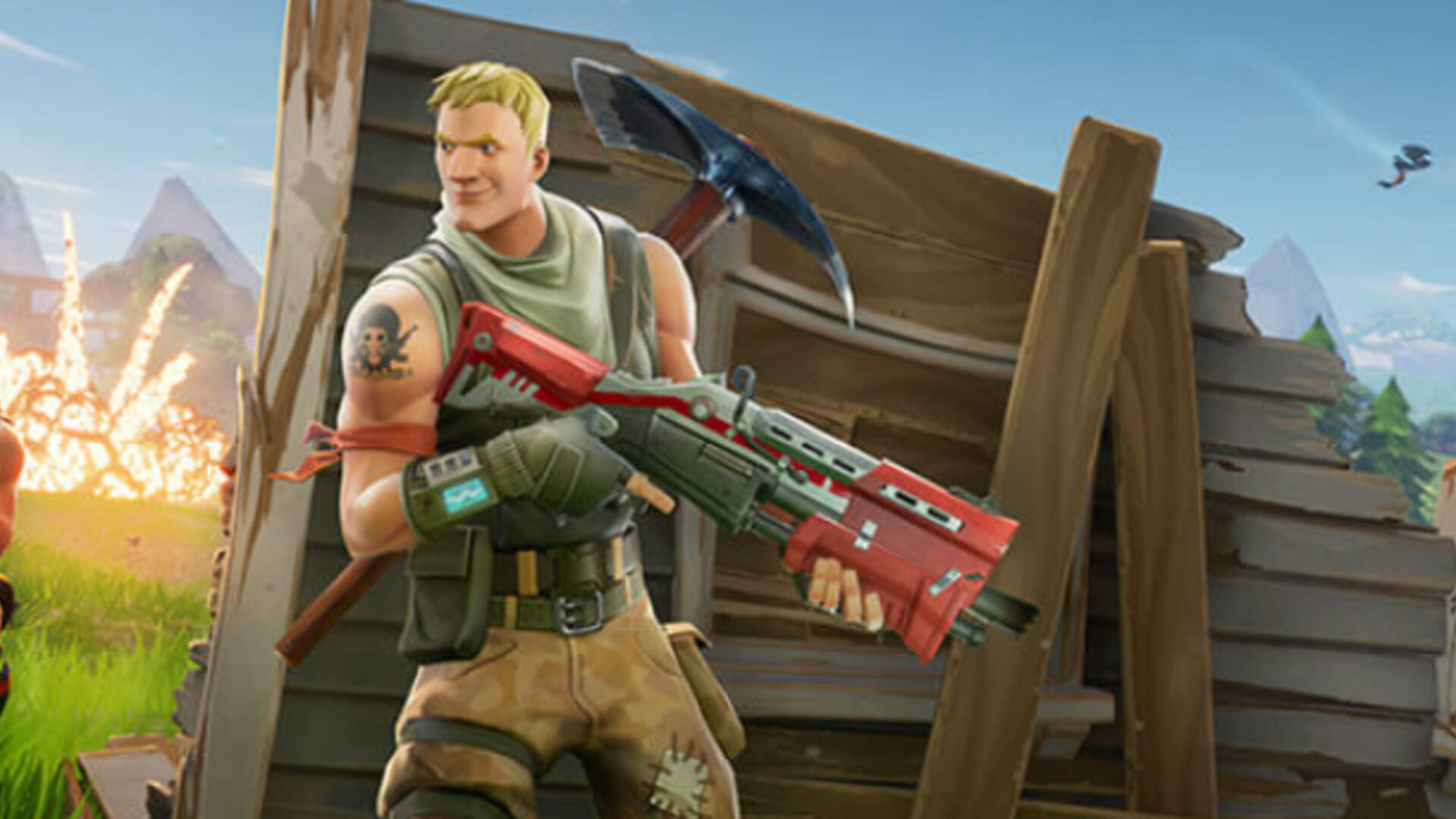 Fortnite Battle Royale is Coming to Mobile With PS4 Cross Play [Update: Live on iOS]