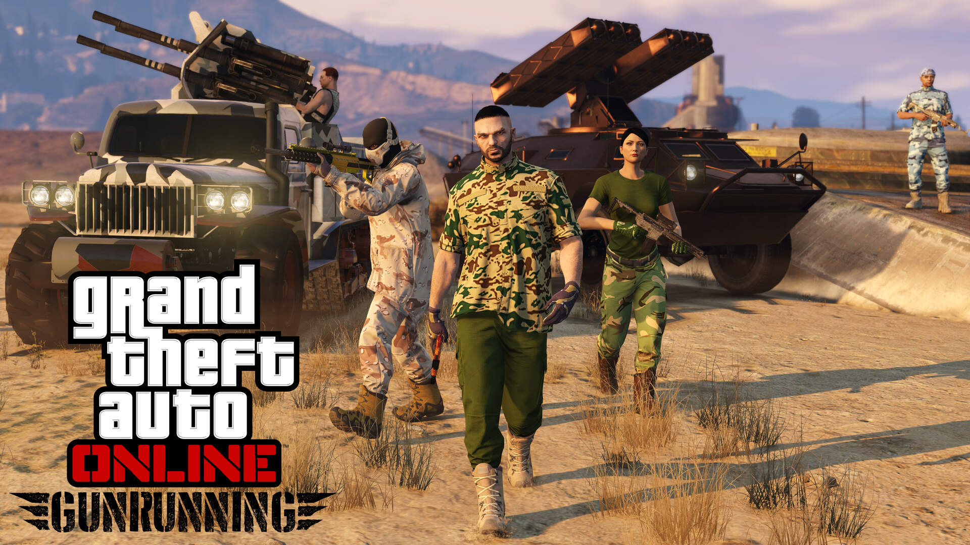 GTA Online Gunrunning - New Weapons, New Vehicles, New Operations, New Bases, How to Access the Update
