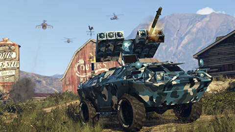 GTA Online Gunrunning - New Weapons, New Vehicles, New