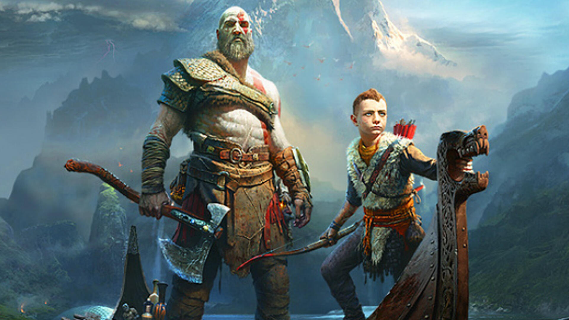 Hand-Drawn Pre-Owned God of War Cover Is as Beautiful as It Is Informative