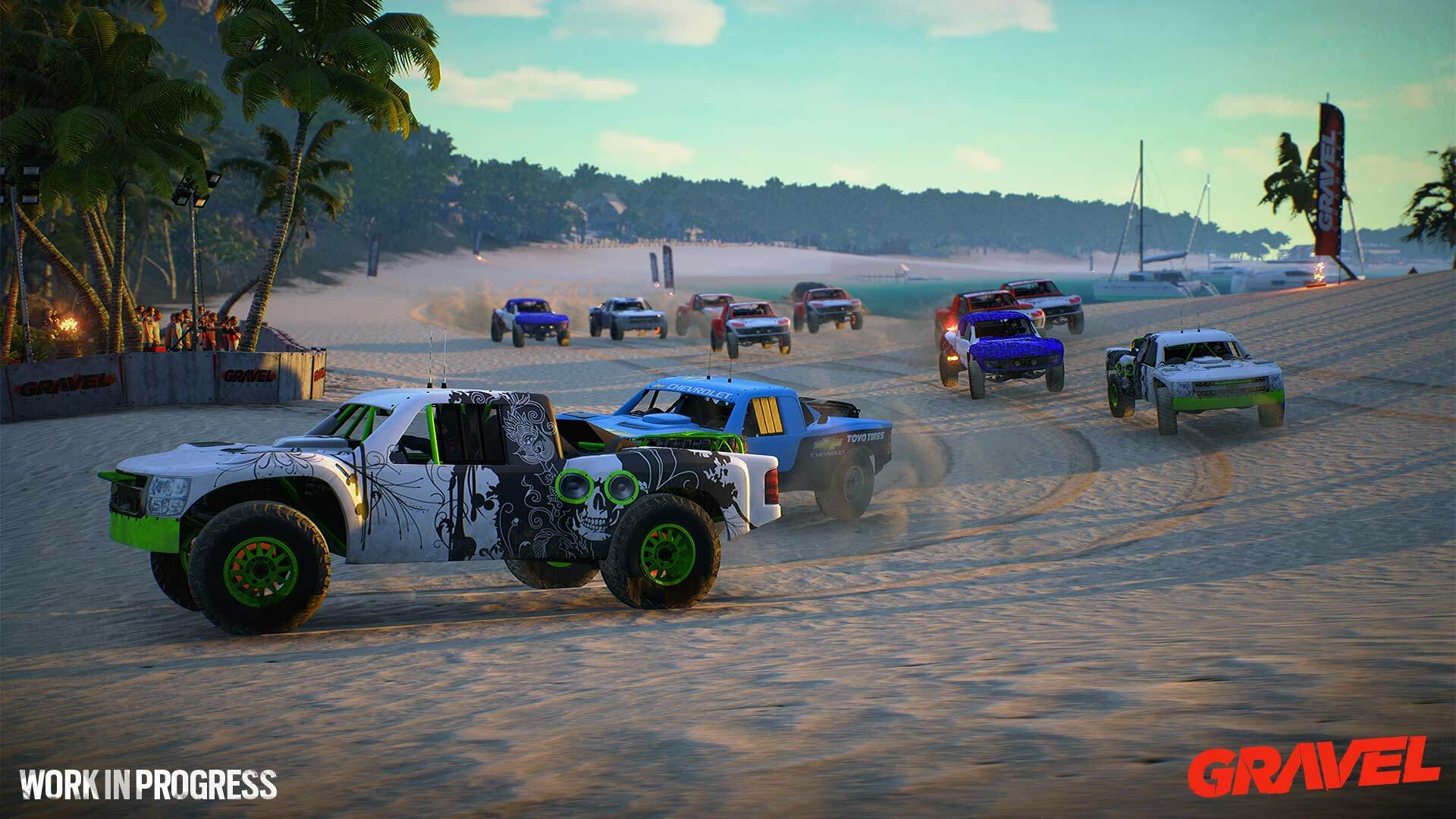 Is Gravel the Spiritual Successor to Sega Rally?