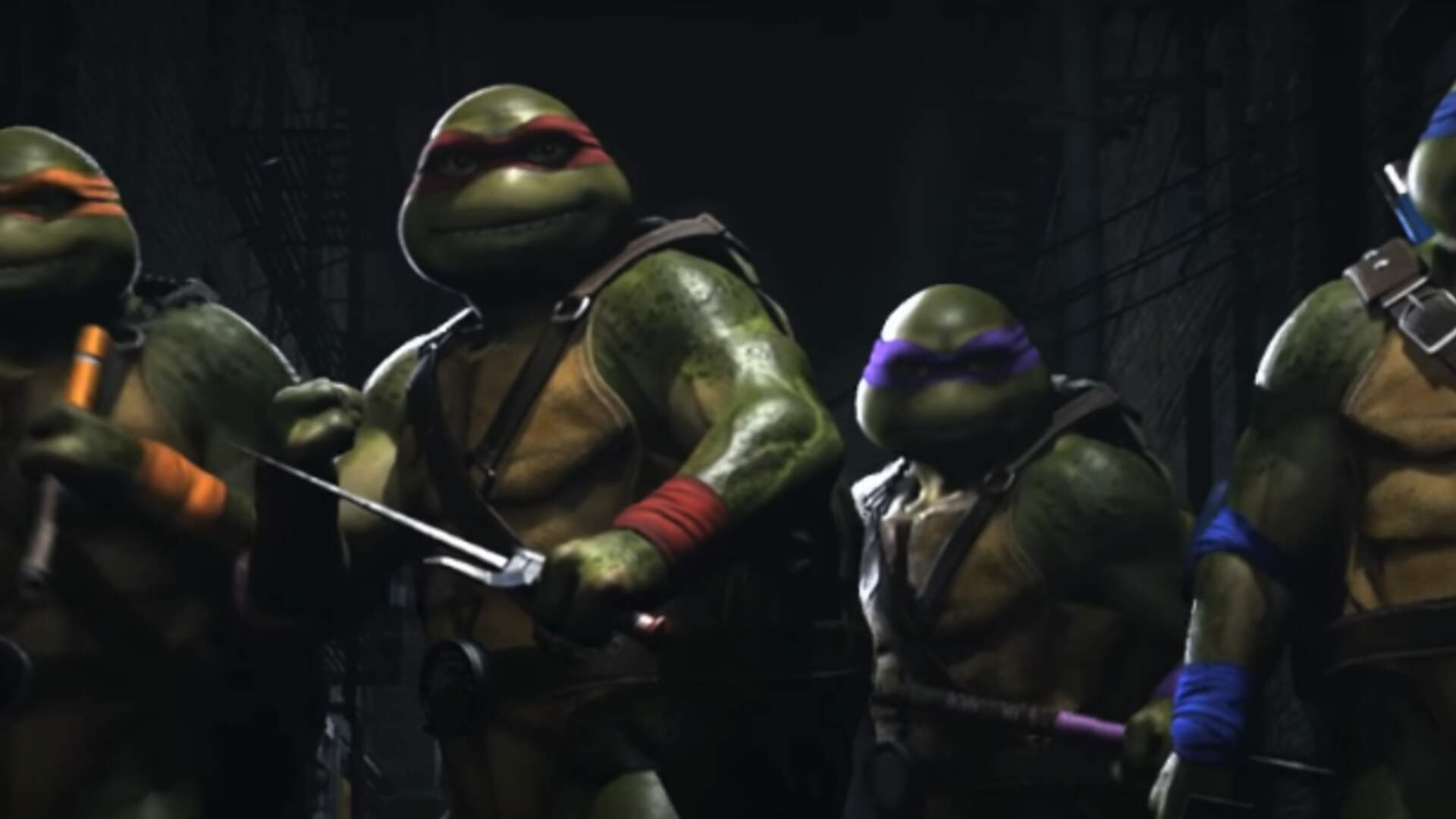 Injustice 2's Next Fighter Pack Adds The Teenage Mutant Ninja Turtles