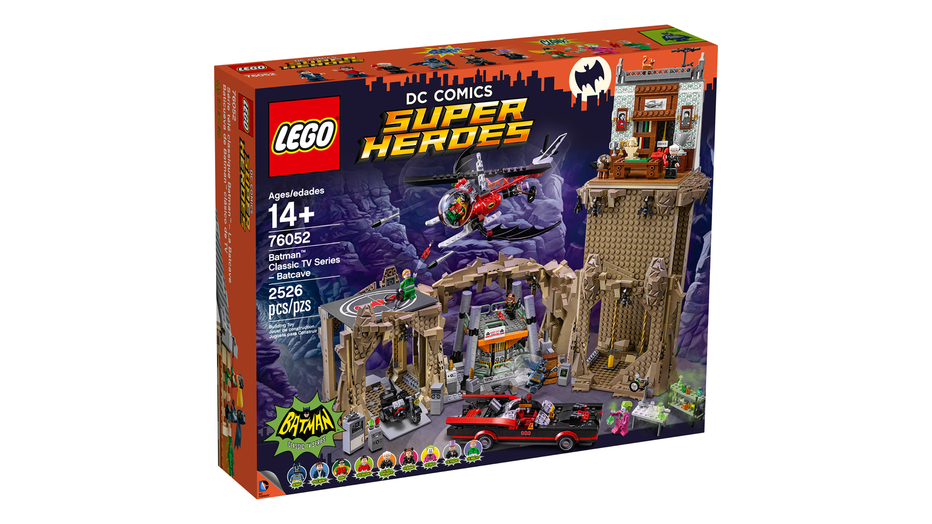 look, i'm mostly including this batman lego set because, well i mean just  look at it  it's a lego set depicting the entire batcave from the 60s adam  west