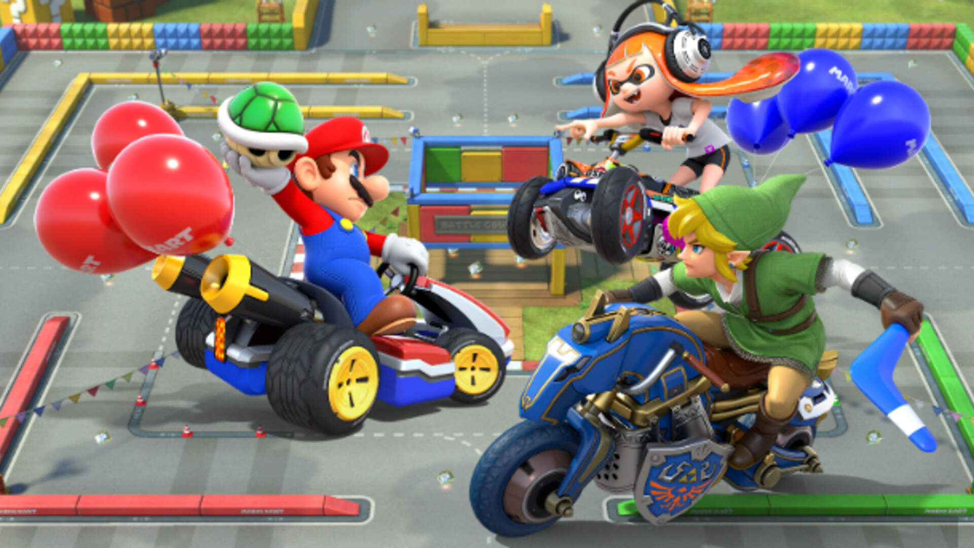 Strangers Bond over Mario Kart 8 Deluxe for the Nintendo Switch