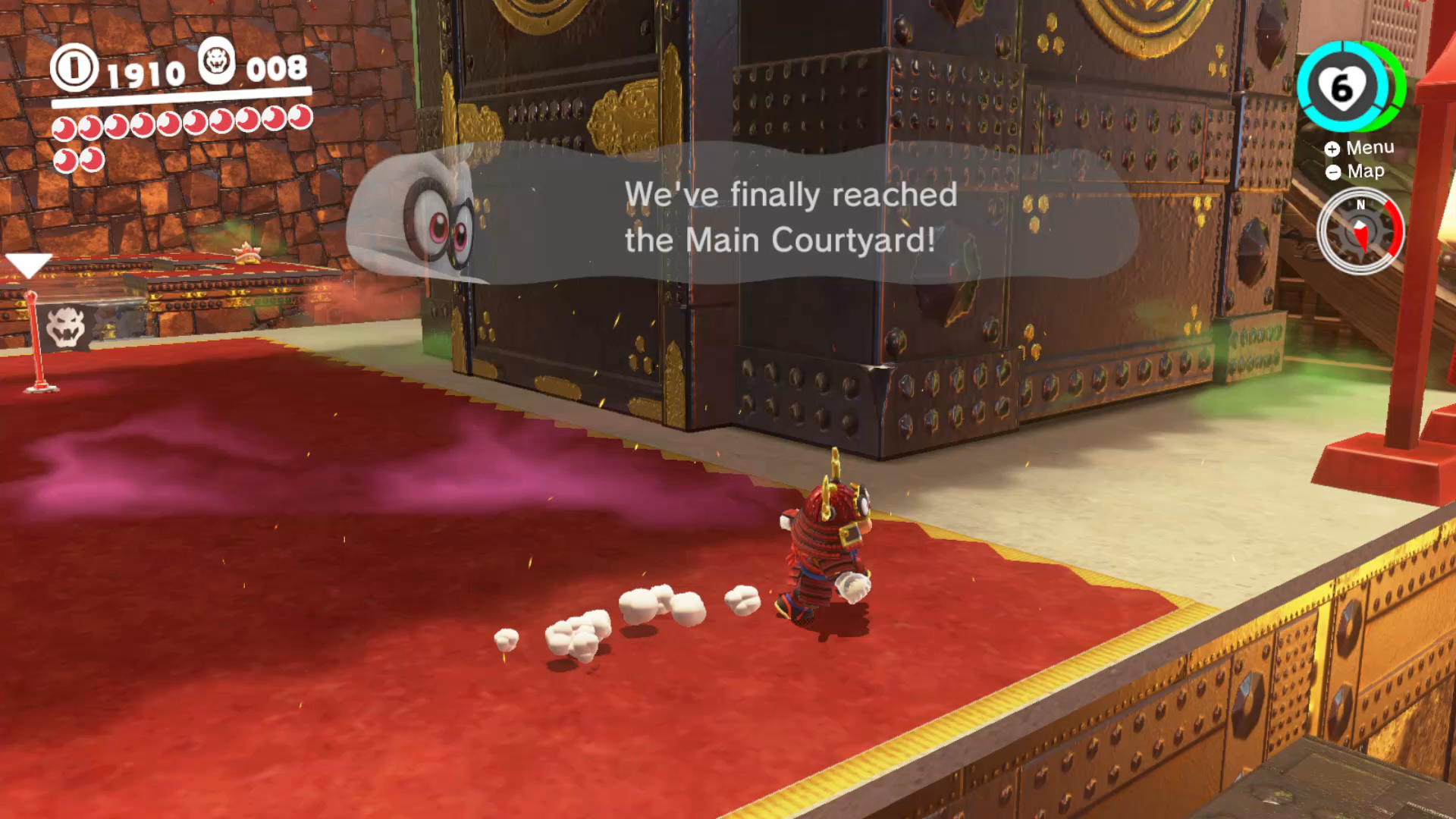 mario odyssey bowser kingdom moons