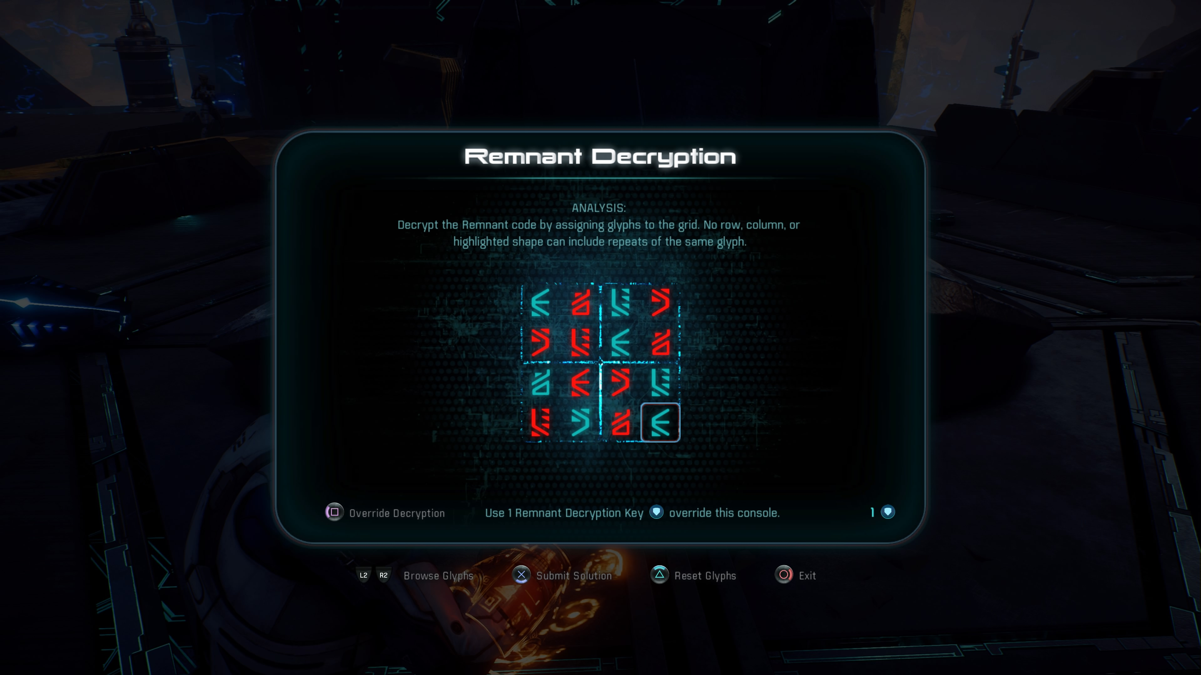 Mass Effect Andromeda Remnant Decryption Solutions Glyphs Eos