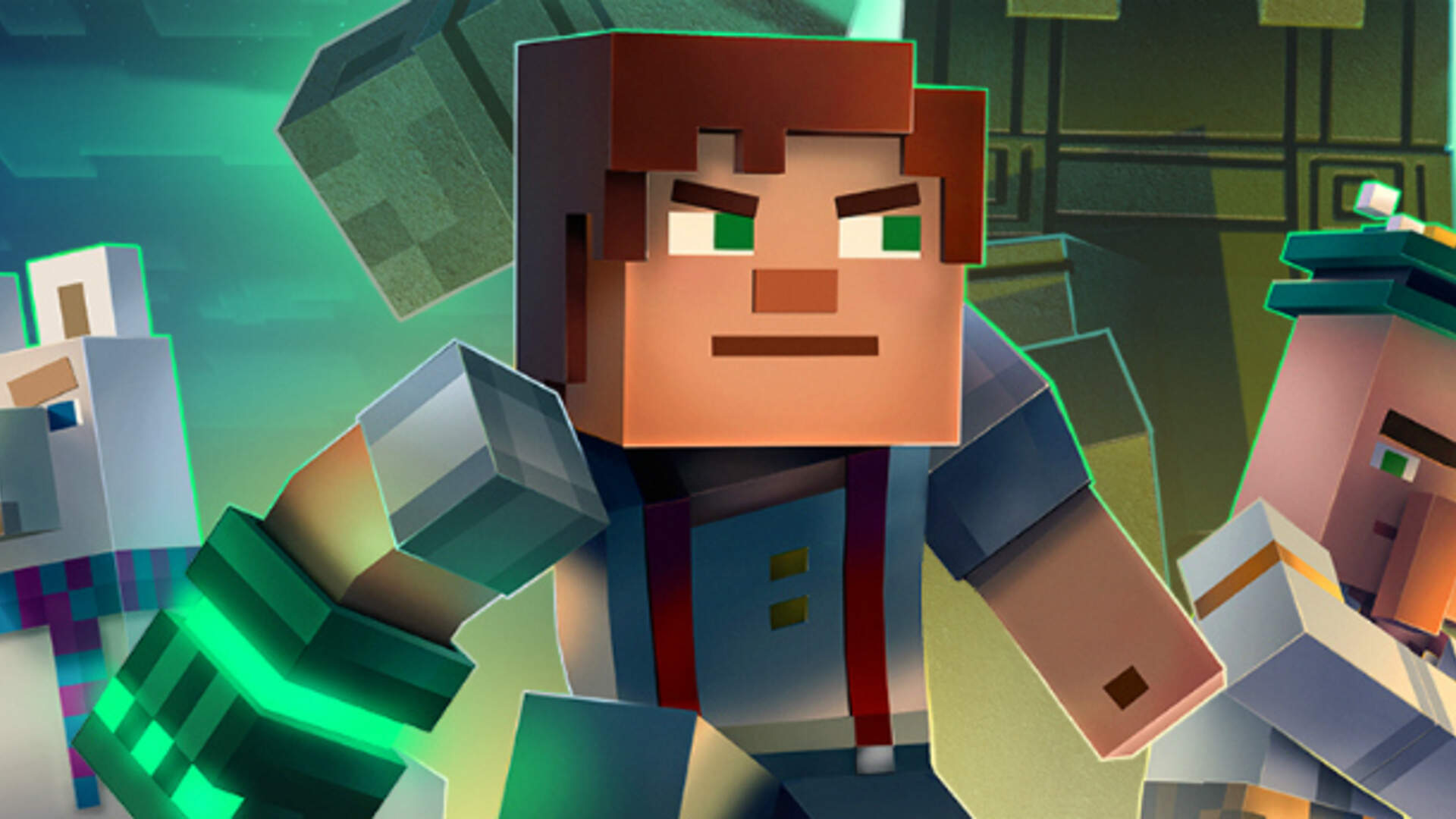 Minecraft Story Mode Season Two Episode One Review Nobody Beats The Admin Usgamer