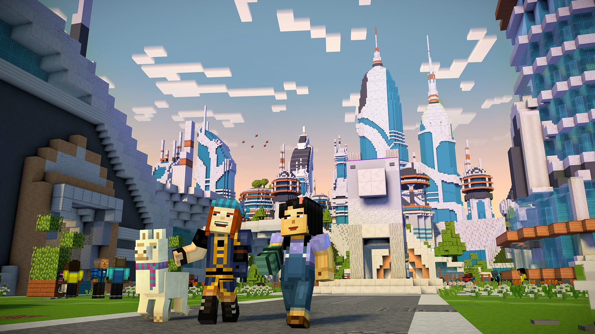 Minecraft Story Mode Is Coming To Netflix But Not As A Game