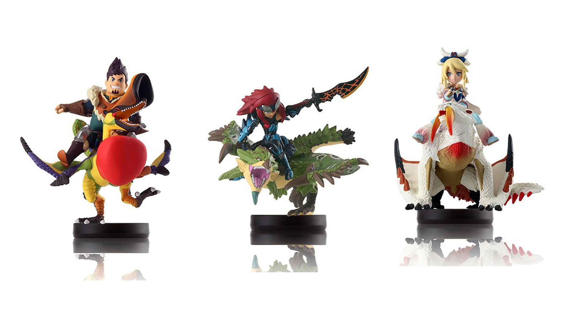 Japan-Only Monster Hunter Amiibo on Sale at Play-Asia for