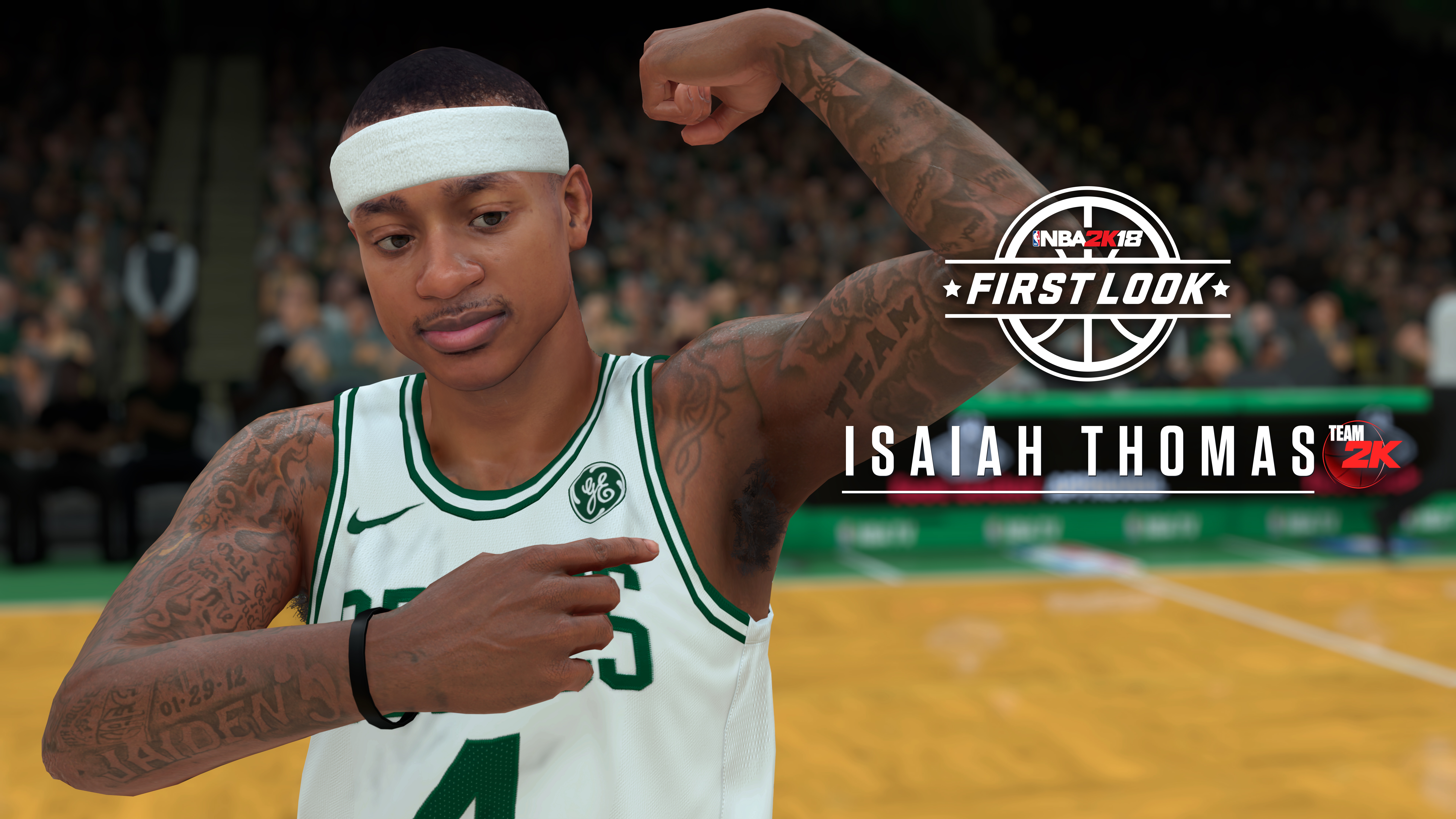 NBA 2K18 Screenshot Isaiah Thomas.
