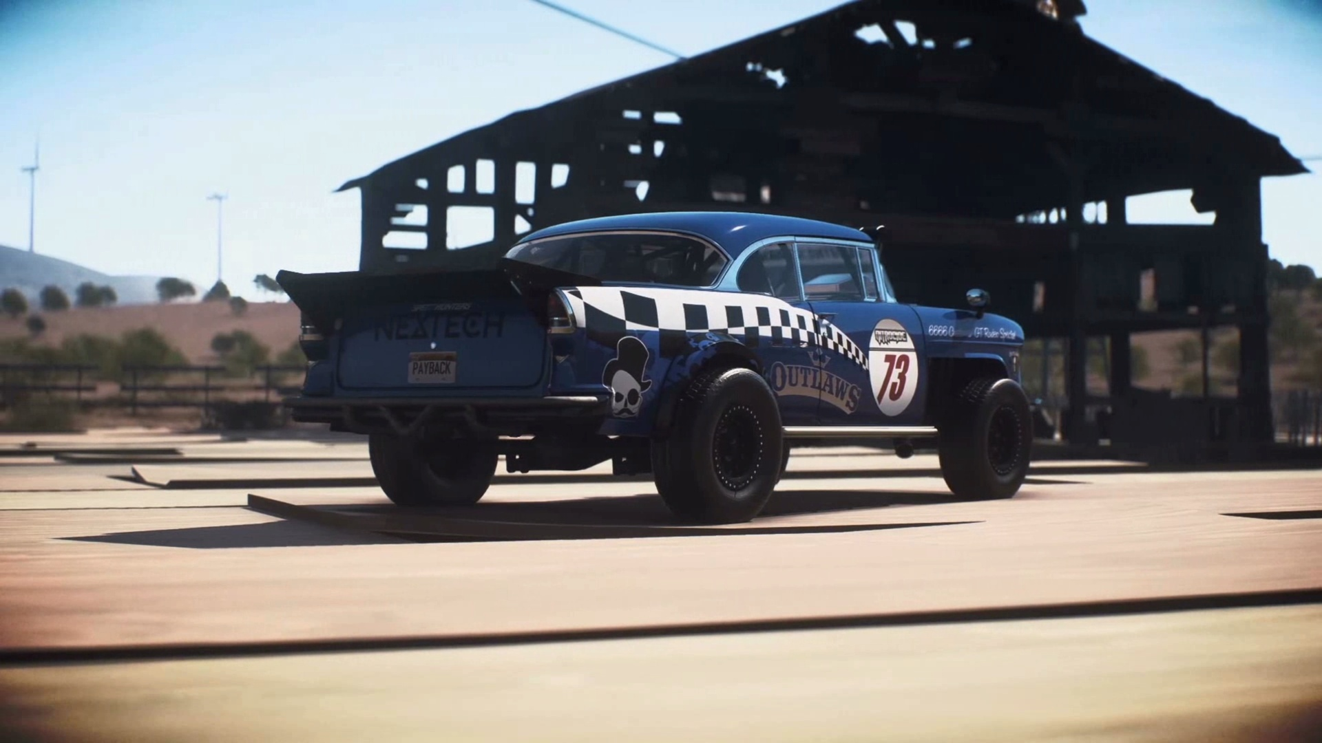 Need for Speed Payback Chevrolet Bel Air 1955 Derelict Car Parts