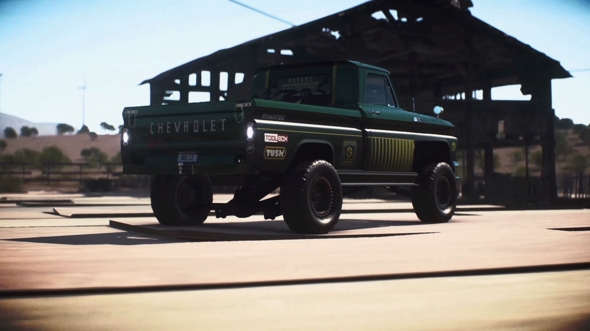 How to get the chevrolet c10 stepside pickup 1965 derelict car in need for speed payback