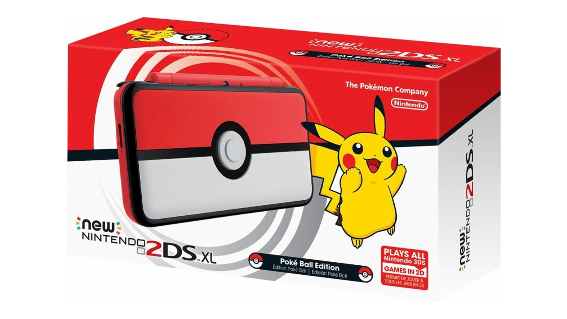 The PokéBall New Nintendo 2DS XL Is up for Pre-Order Now