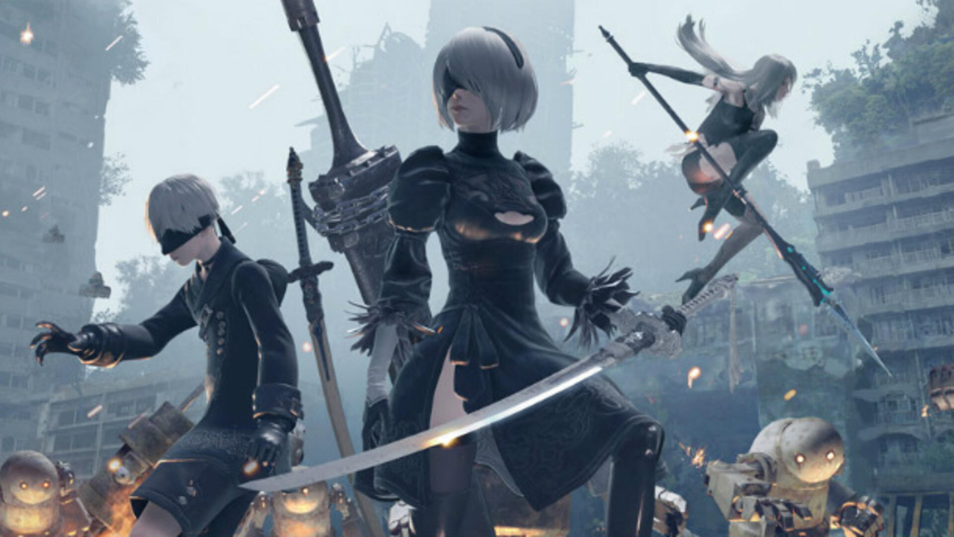 Glory to Microsoft Fans: Nier: Automata Releasing on Xbox One in June [Update: Xbox One X Enhanced]