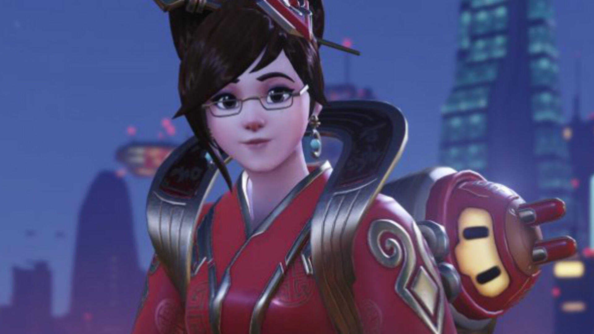 Overwatch Bug Causes Player Headaches Over Skinny Mei