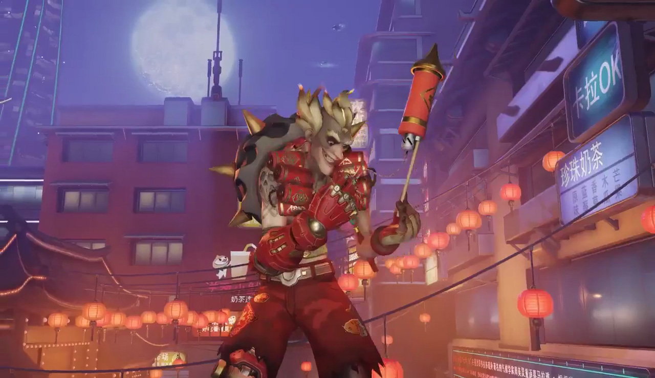 Overwatch Year Of The Rooster Trailer Shows Off Chinese Inspired