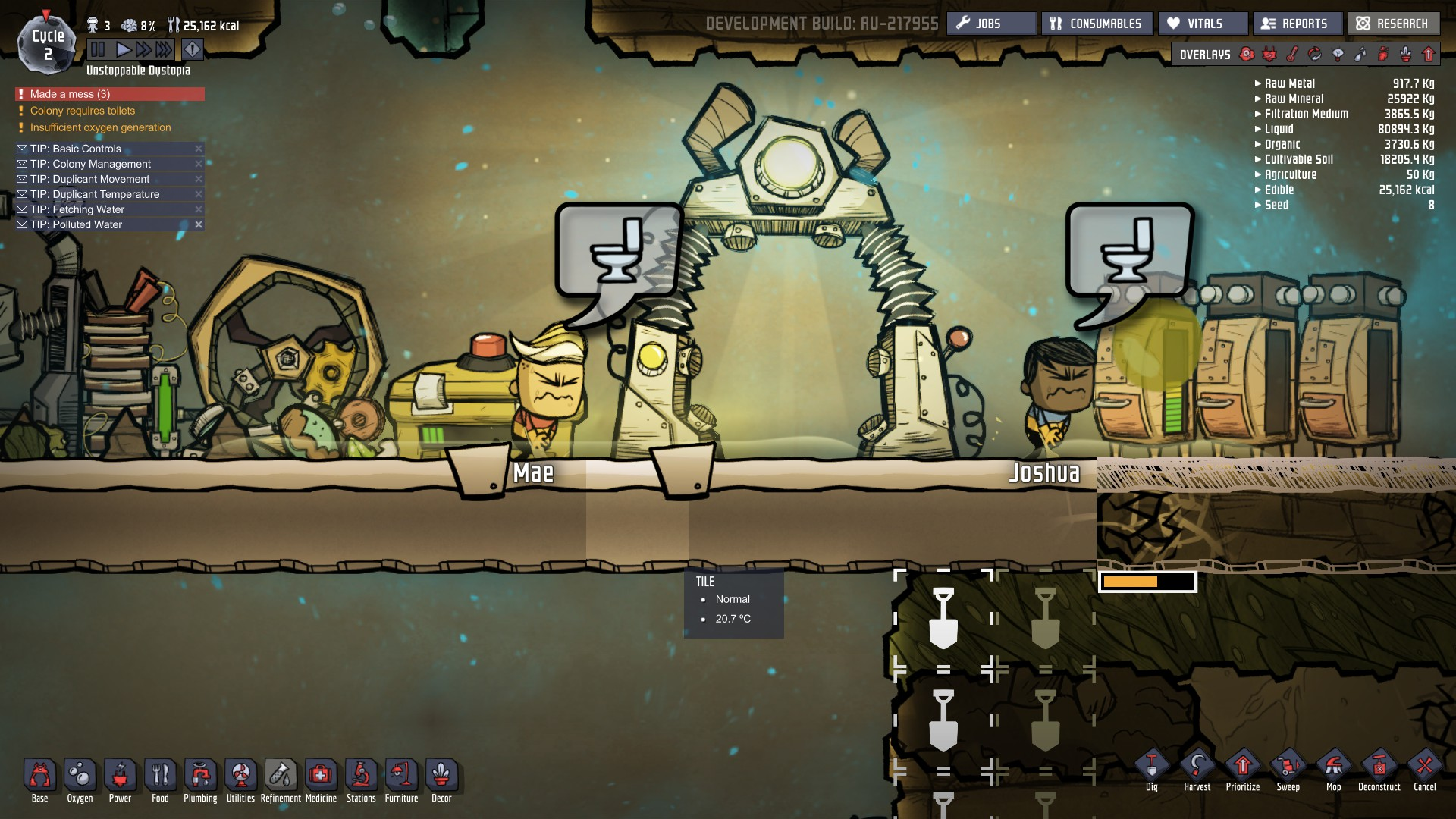 Oxygen Not Included Cheats