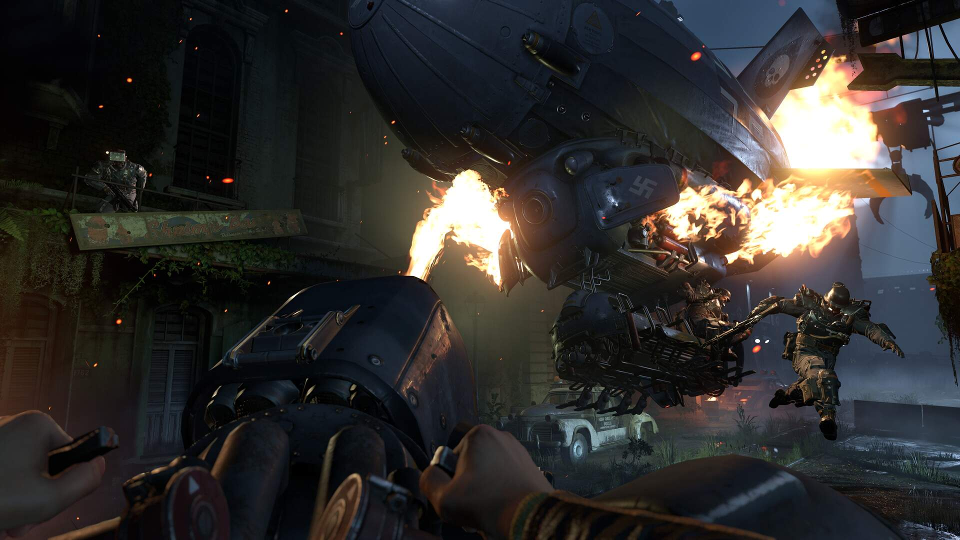 Wolfenstein 2 Reaffirms its Commitment to Killing Nazis in New Ad