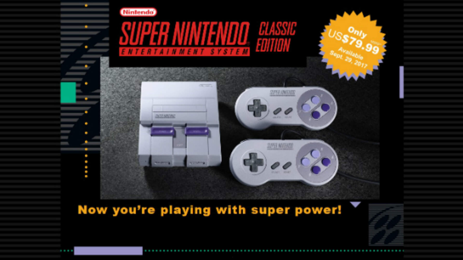 Nintendo Announces SNES Classic Edition, Including The Never-Released Star Fox 2 [Updated: Nintendo Promises More Shipments]
