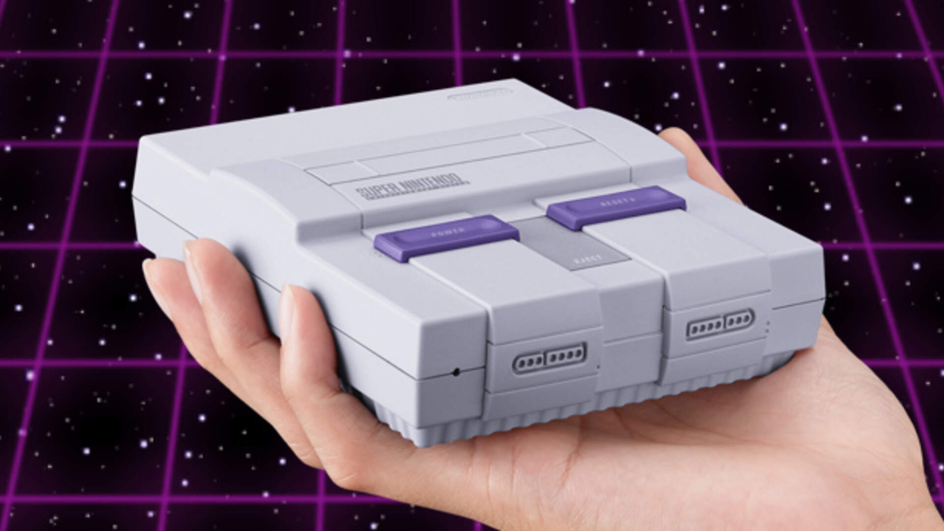 Super NES Classic Goes Live on GameStop, Site Promptly Goes Down [Update: It's on Thinkgeek Now]