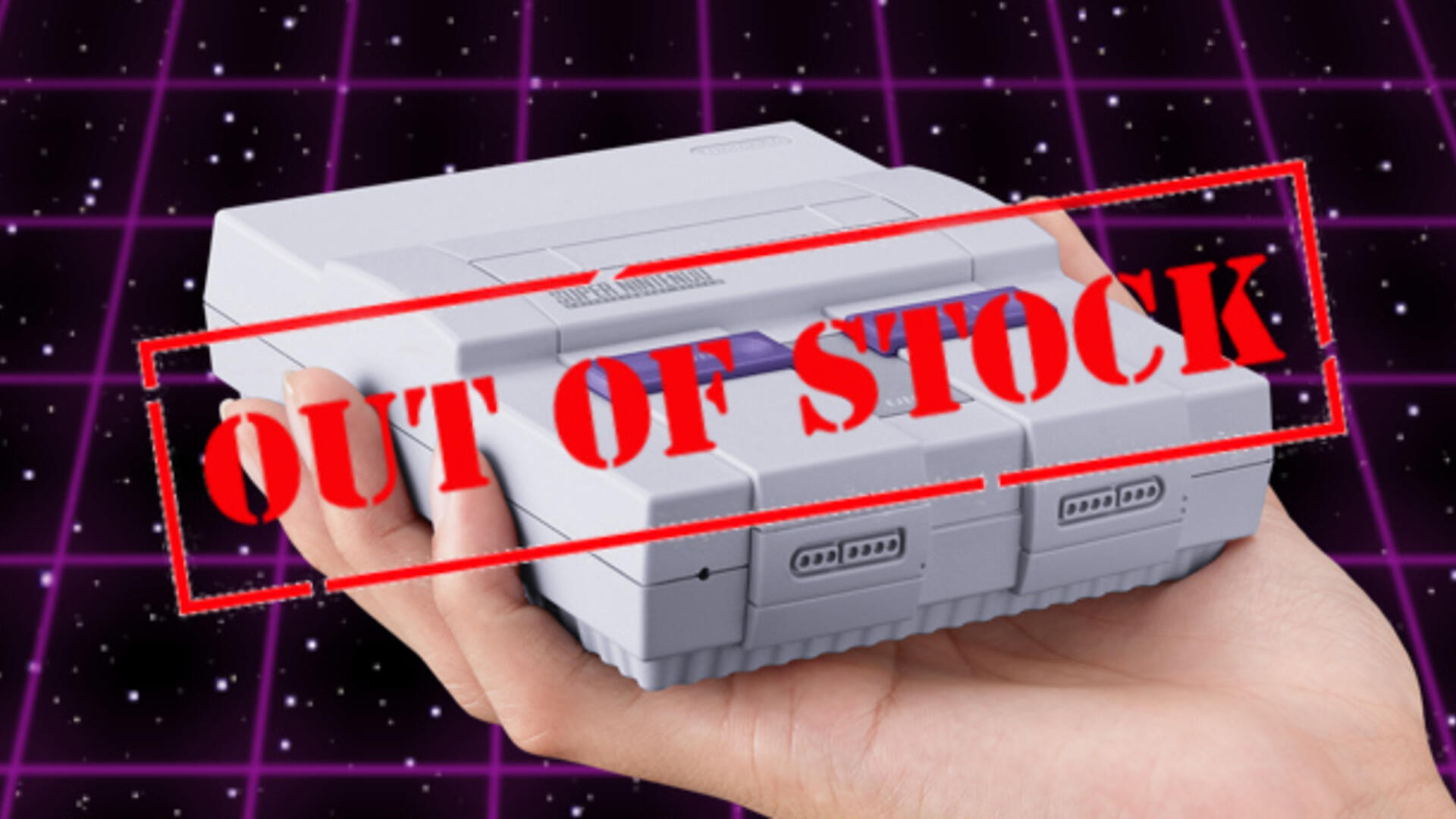 It Shouldn't Be This Hard To Buy a SNES Classic Edition