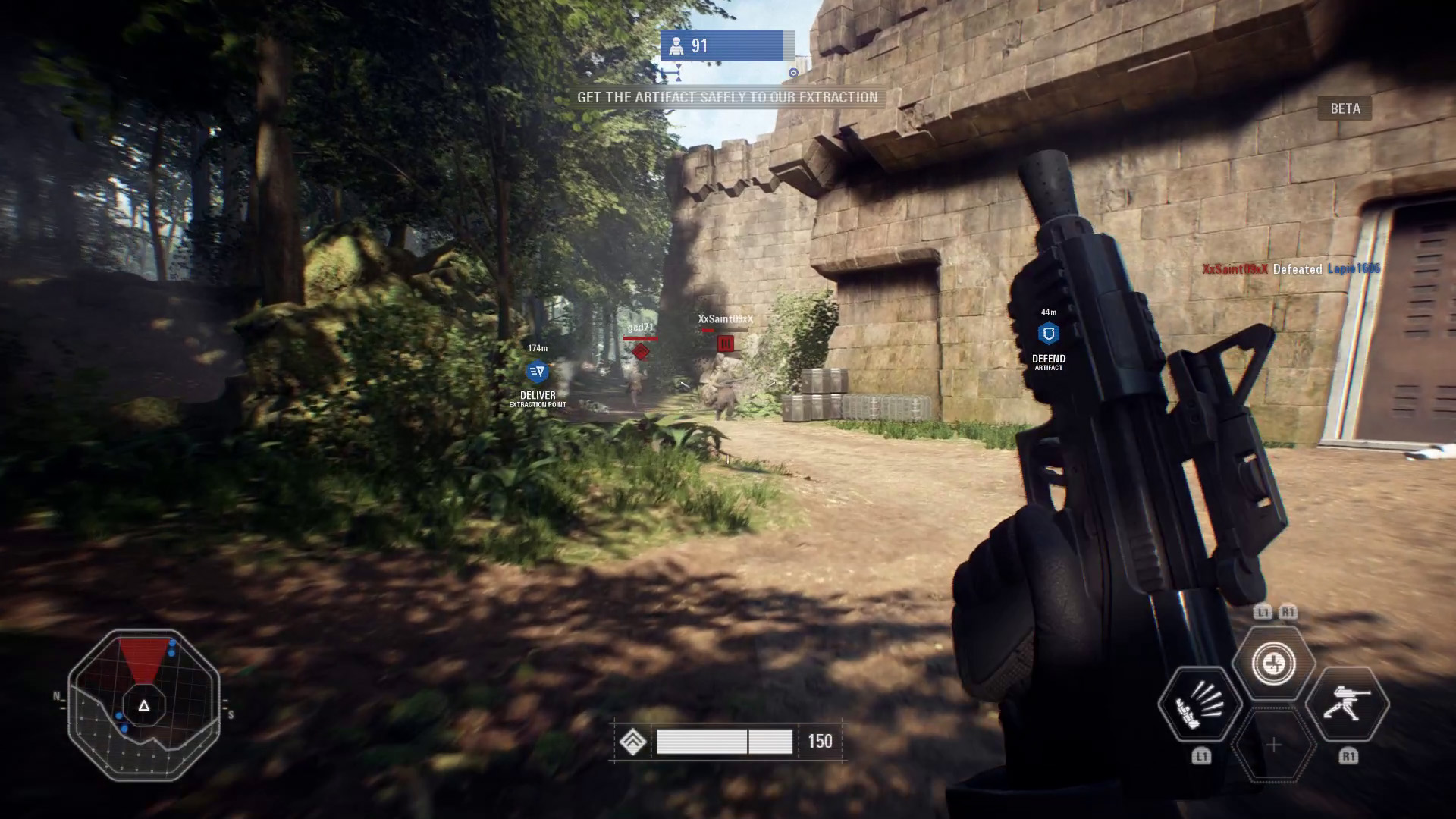 The Beta Offers A Slice Of Full Games Content With Three Multiplayer Modes Spread Across Maps Galactic Assault 20v20 Is