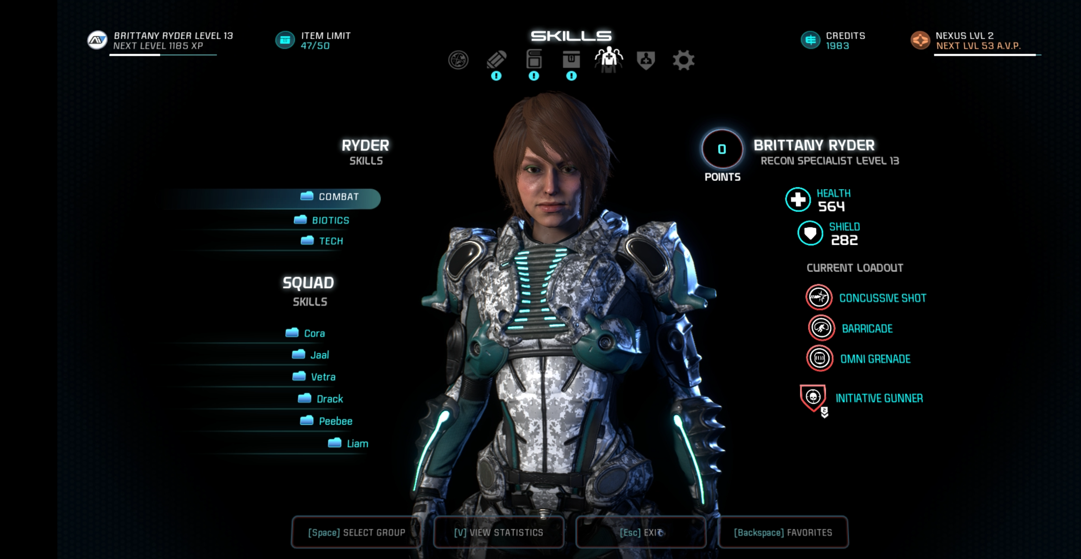 Mass Effect Andromeda Best Squadmate Builds