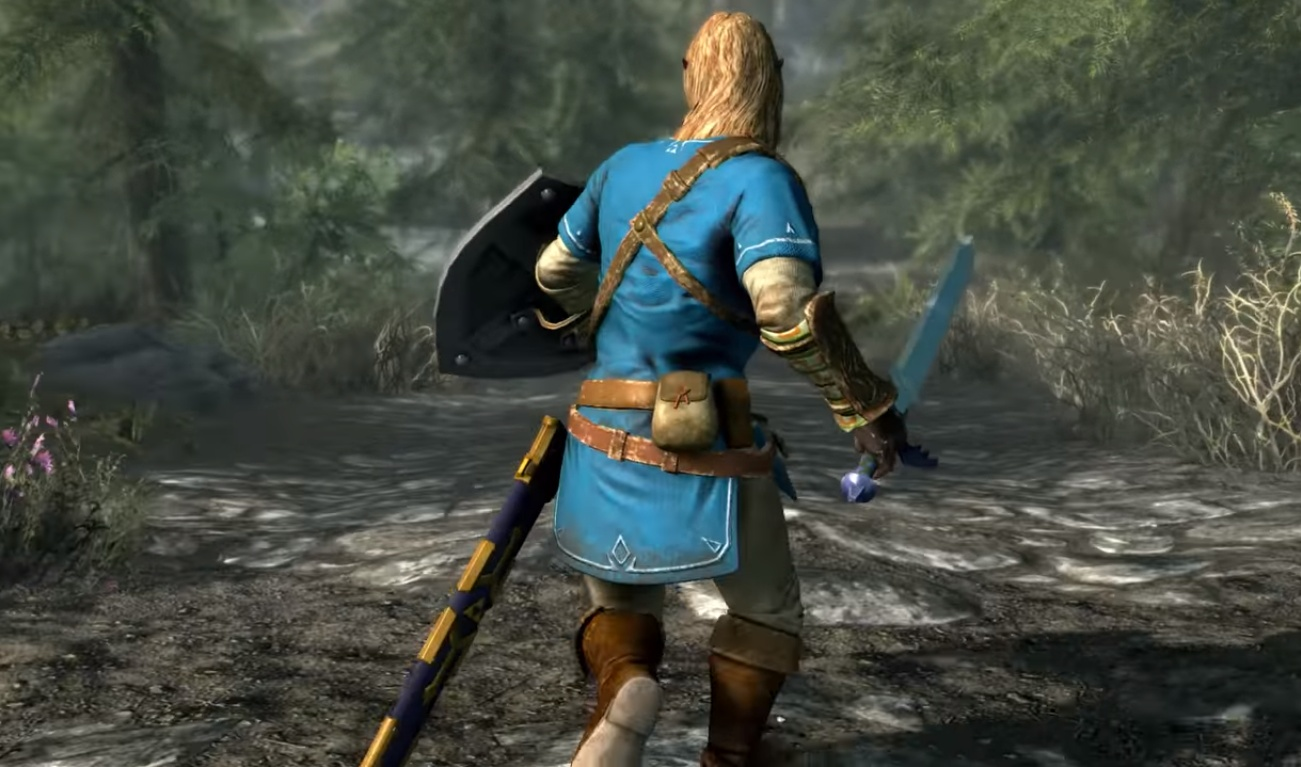 Skyrim Switch Zelda Gear Guide - How to get the Zelda Master