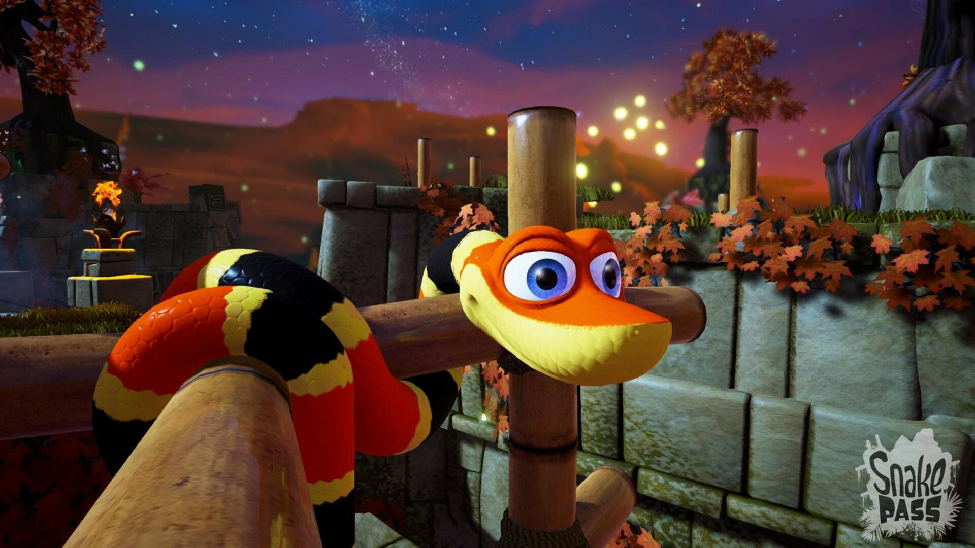 Nintendo Switch Snake Pass has Confounding Controls, but is Still Really Fun