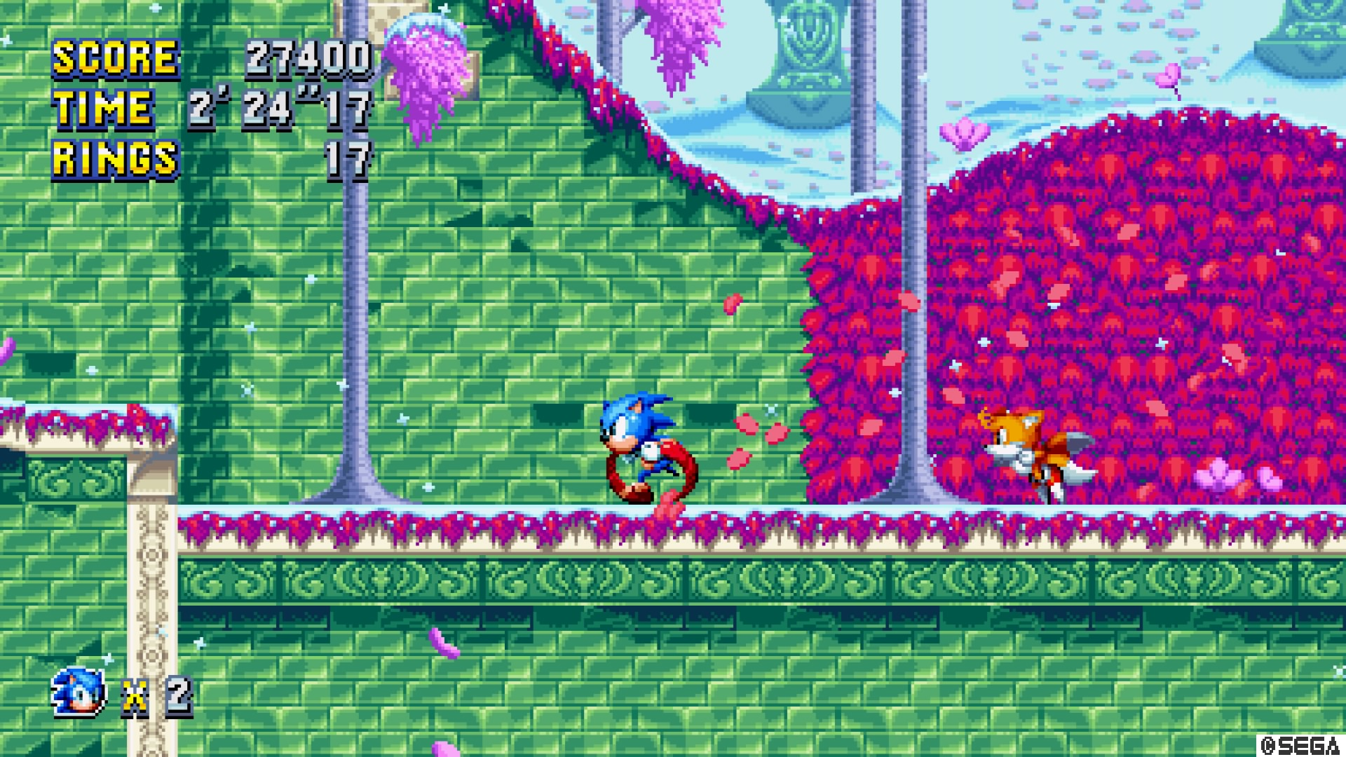 Sonic Mania Review Rolling Around At The Speed Of Schmaltz Usgamer