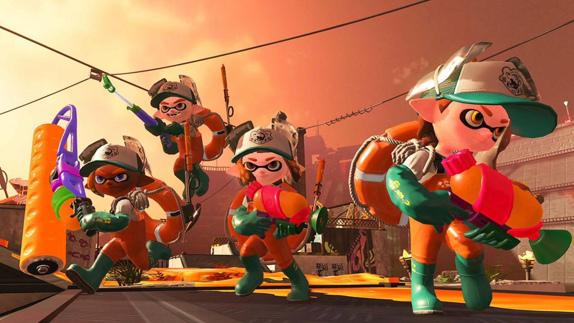 Splatoon 2 Demo Week Lets You Try the Calamari (and Nintendo Switch Online) Before You Buy