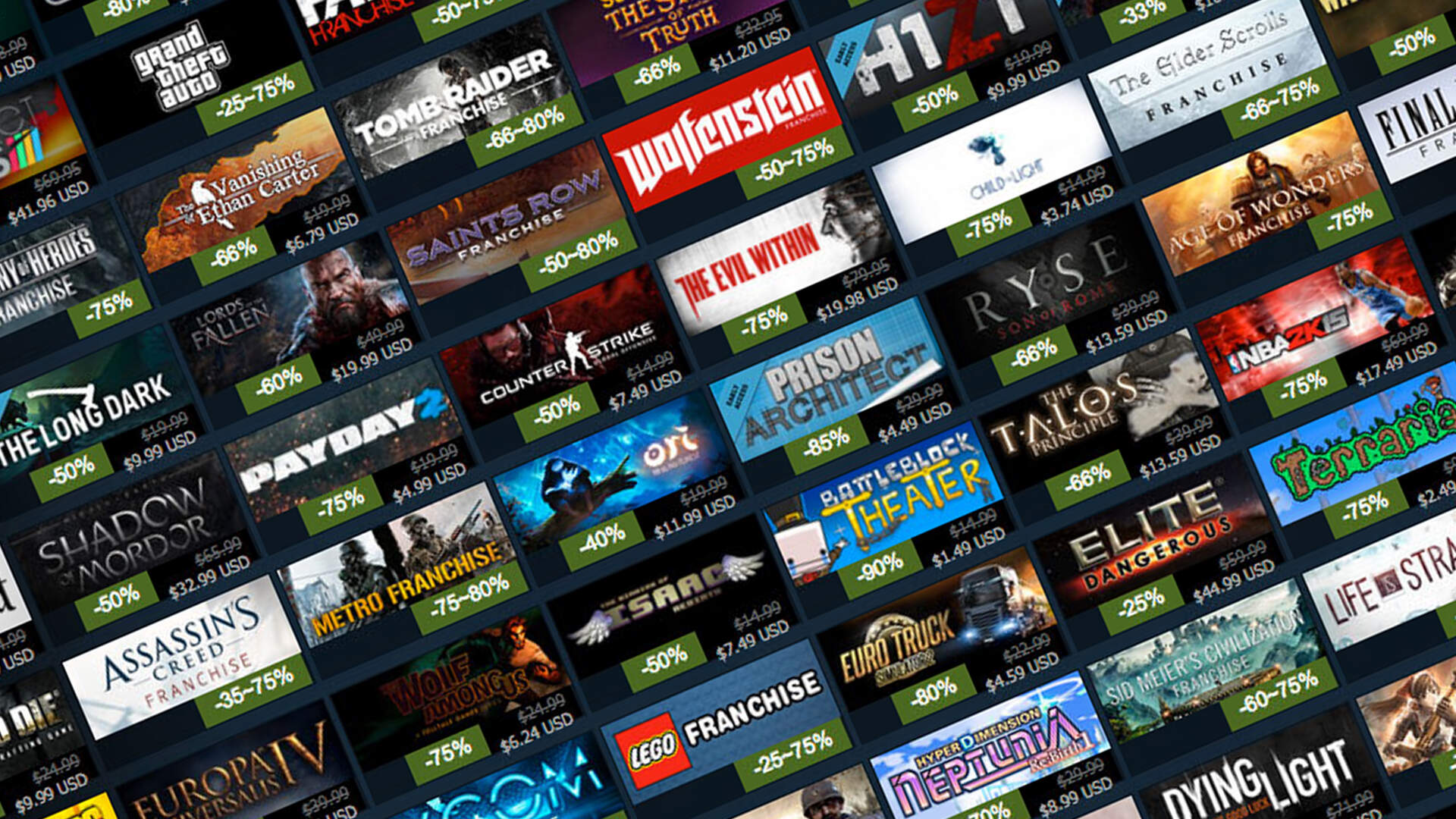 The Steam Halloween, Black Friday, and Winter Sale Dates Have Reportedly Leaked