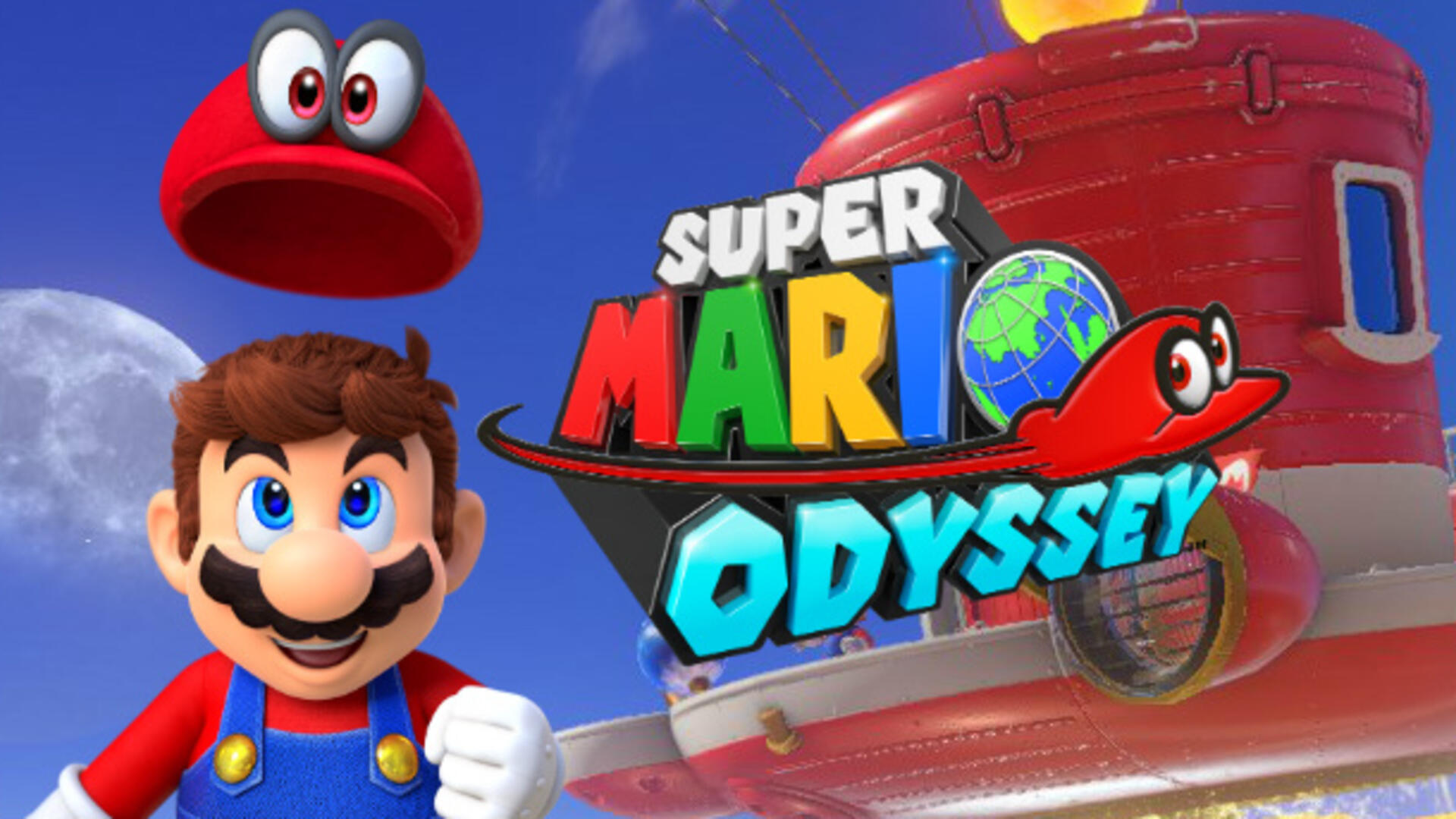 Super Mario Odyssey Will Miss Switch Launch, Coming Holiday 2017