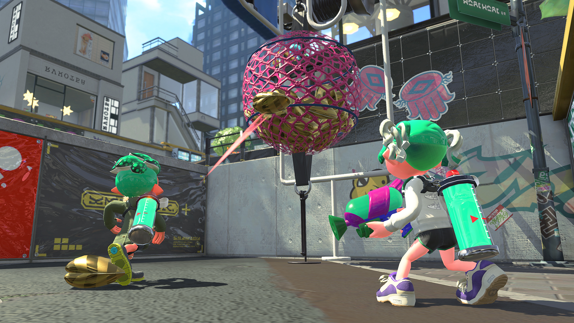 splatoon 2 s new clam blitz mode is probably the closest i ll ever