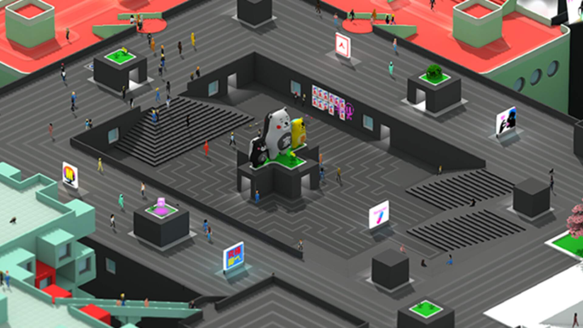 Tokyo 42: Come for the Pop Color, Stay for the Brutalist Architecture